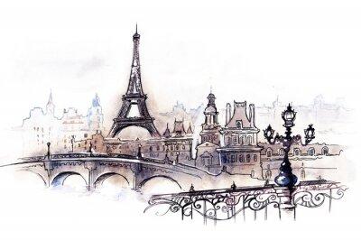 Fototapeta Paryż (seria C)