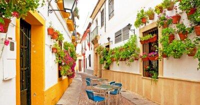 Fototapeta Patio w Cordoba hiszpańskie wina dla romantyków