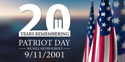 Fototapeta Patriot Day 2021