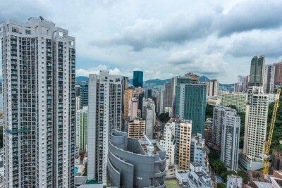 Fototapeta Pejzaż Causeway Bay w Hongkongu