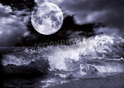 Fototapeta Pełnia księżyca