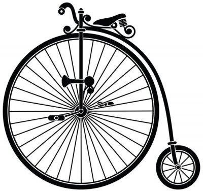 Fototapeta Penny Farthing rowerów
