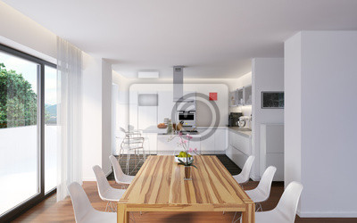 Fototapeta Penthouse modernes - nowoczesny luksusowy penthouse