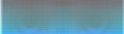 Fototapeta Perforated blue sheet metal with polised surface with reflexion lights