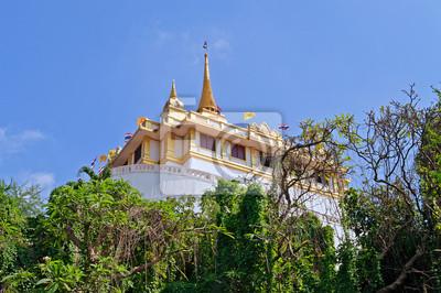 Phu Khao Thong (Złota Góra) i Wat Saket