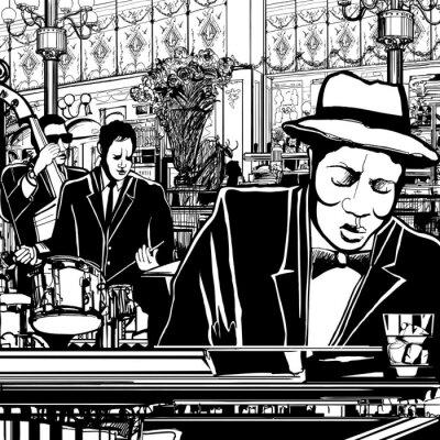 piano-Jazz band w restauracji