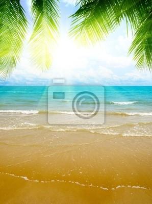 Fototapeta piasek i ocean