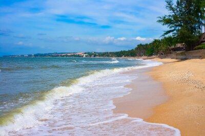 Fototapeta Piaszczysta plaża w Mui Ne