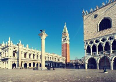 Fototapeta Piazza San Marko wcześnie rano, Wenecja, Włochy