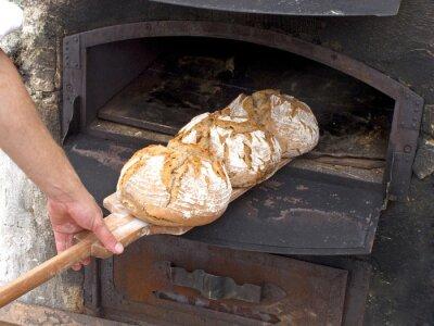 Fototapeta piec chlebowy