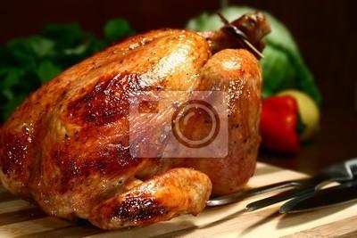 Fototapeta pieczony kurczak