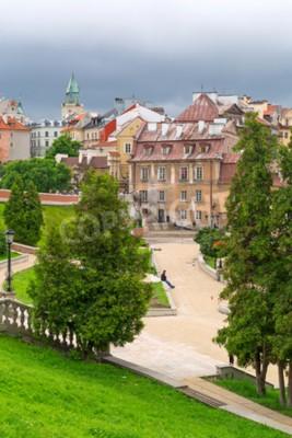 Fototapeta Piękna architektura starego miasta w Lublinie