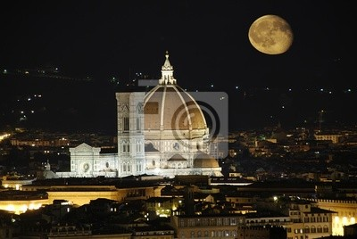 Fototapeta Piękna katedra Santa Maria del Fiore, Florencja - Włochy