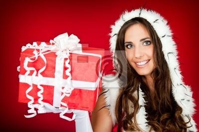 Fototapeta piękna kobieta boże prezent