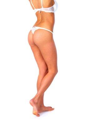 Piękna kobieta nogi.