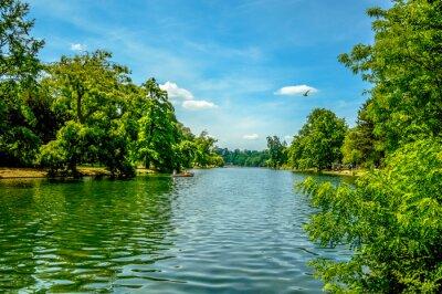 Fototapeta Piękna rzeka we Francji