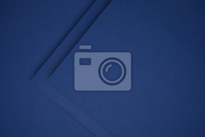 Fototapeta piękne ciemnoniebieskie tło geometryczne papieru