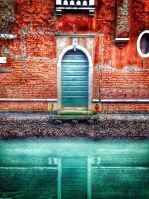Fototapeta Piękne drzwi w Wenecji