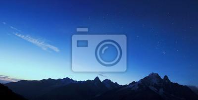 Piękne Góry Chamonix