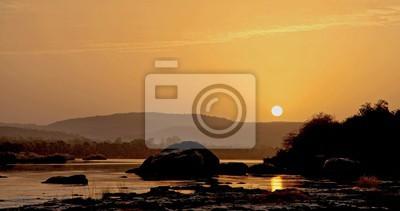 Piękne jeziora w Afryce - Oasis