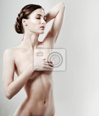 Piękne kobiece ciało. doskonałe skóry.