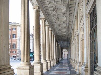 Fototapeta Piękne kolumnada z Rzymu