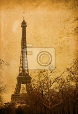 piękne uliczki paryski - z miejsca na tekst lub obraz.