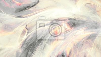 Piękny dym z efektem oświetlenia. Abstrakcyjna miękkich kolor tła. Tekstury malowania ruchu. Nowoczesny futurystyczny błyszczący wzór. Fraktalna grafika do kreatywnego projektowania graficznego