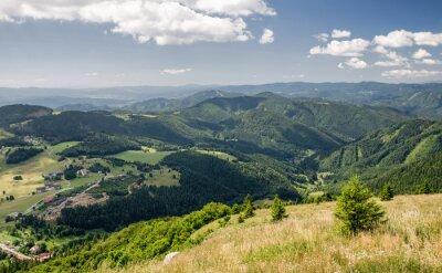 Fototapeta Piękny krajobraz górski, Słowacja