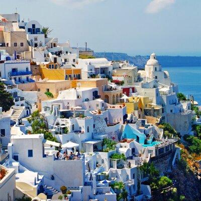 Fototapeta Piękny romantyczny Santorini