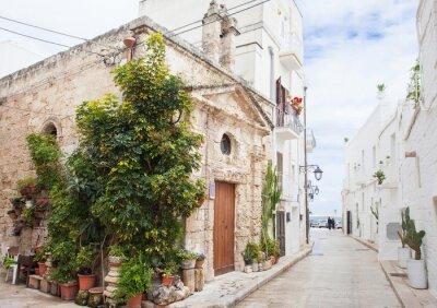 Fototapeta Piękny ulicy, Monopoli, Włochy