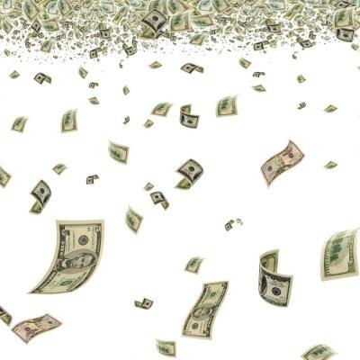 Fototapeta Pieniądze w powietrzu.