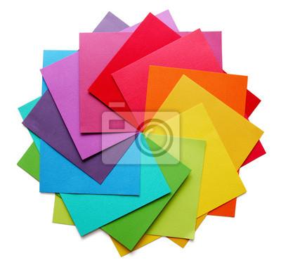 Fototapeta pierwszo-, drugo-, trzecio-koło kolorów