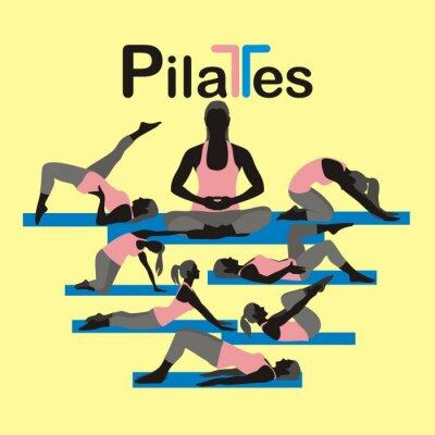 Fototapeta Pilates_2