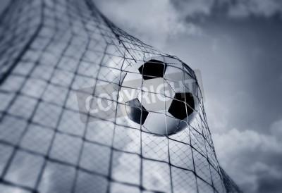 Fototapeta Piłka do gry w piłkę nożną