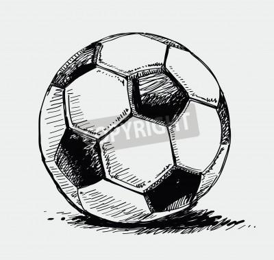 Fototapeta Piłka nożna