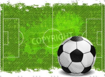 Fototapeta Piłka nożna wzór tła