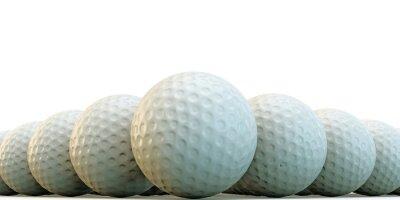 Fototapeta piłki golfowe