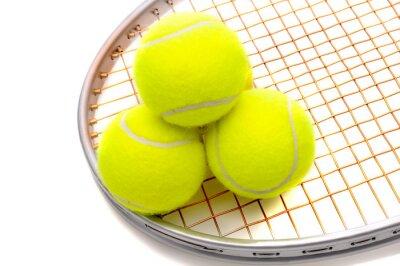Fototapeta Piłki tenisowe na rakiety