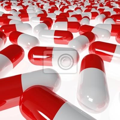 Fototapeta Pills