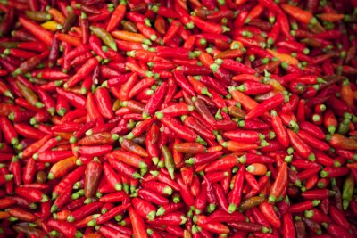Fototapeta piments Rouges