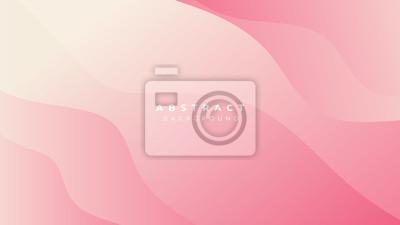 Fototapeta Pink Blue White Yellow Gradient Liquid Wave Abstract Background