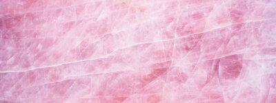 Fototapeta Pink rose quartz texture background banner