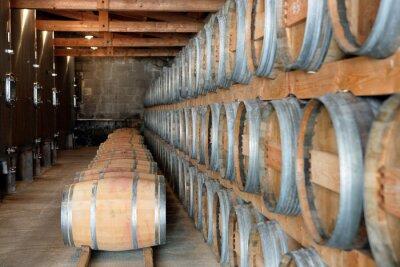 Fototapeta Piwnica do przechowywania wina