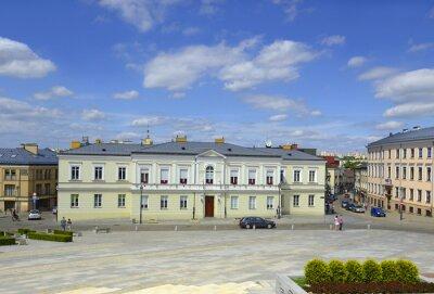 Fototapeta Plac NMP w centrum miasta, Kielce, Polska