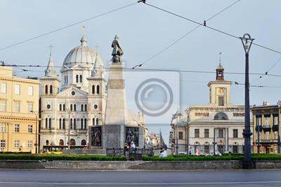 Fototapeta Plac Wolności, Łódź