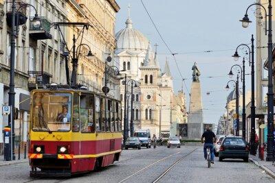 Fototapeta Plac Wolności, Łódź, Polska