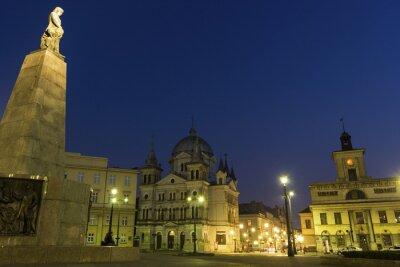 Fototapeta Plac Wolności w Łodzi