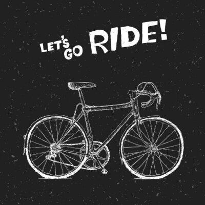 Fototapeta Plakat rowerów