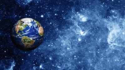 Fototapeta Planeta Ziemia w przestrzeni